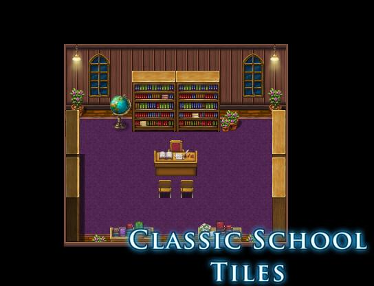 RPG Maker VX Ace - Classic School Tiles screenshot