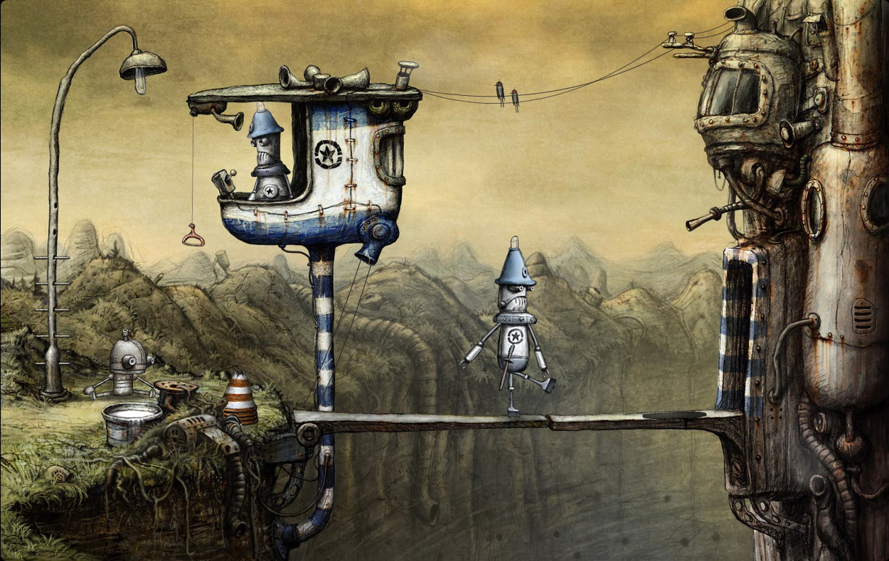 Machinarium [RePack] [2009|Rus|Eng|Multi15]
