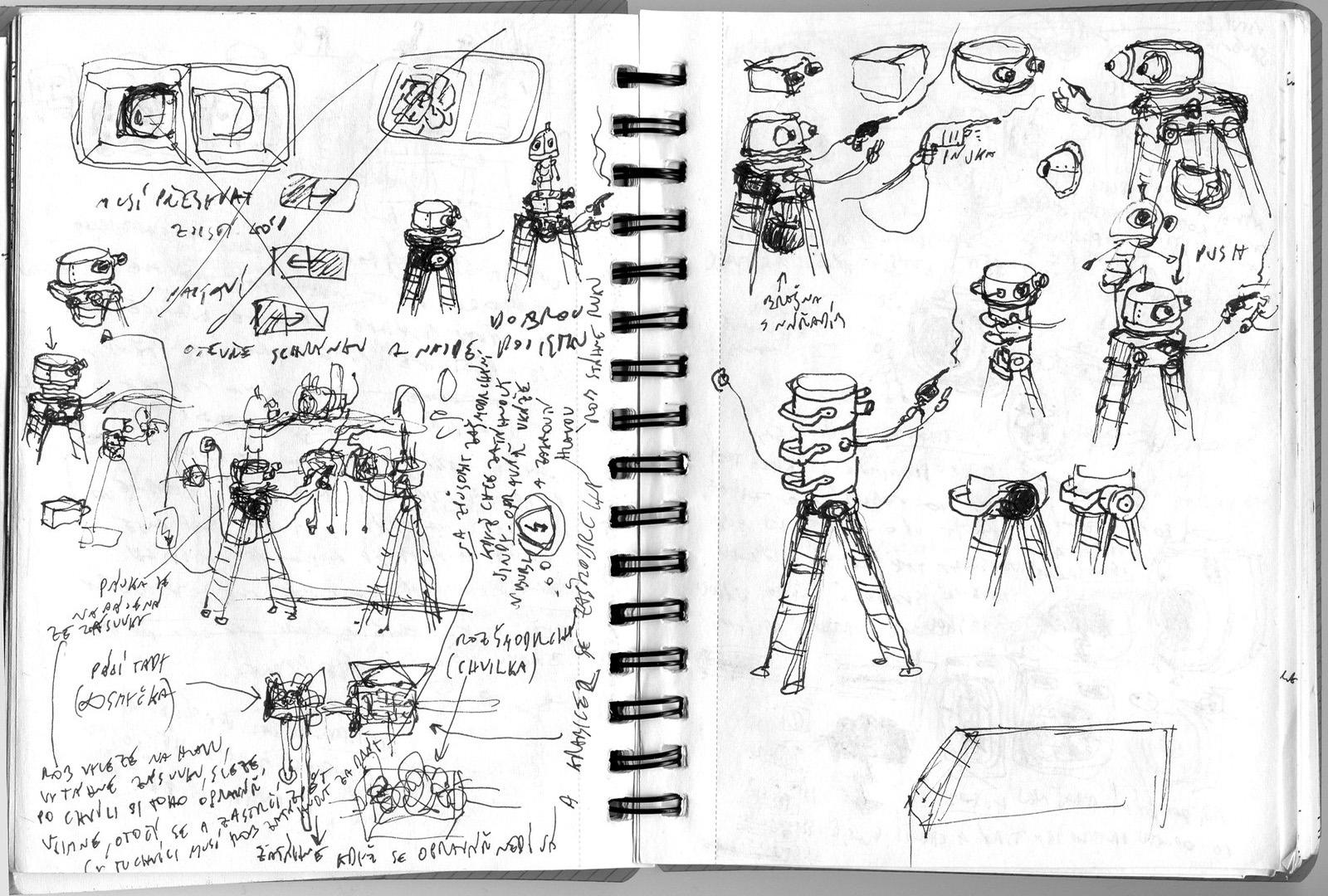 Machinarium Soundtrack + Art Book screenshot