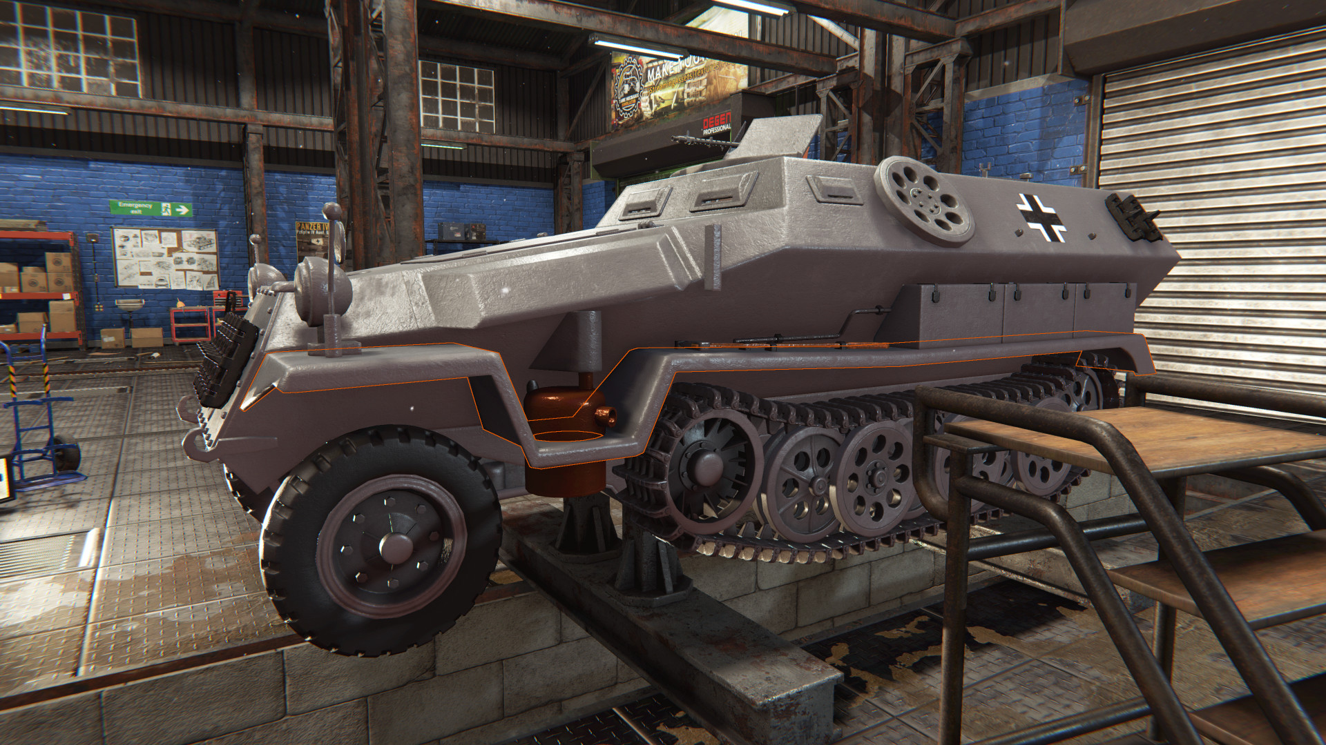Tank Mechanic Simulator screenshot