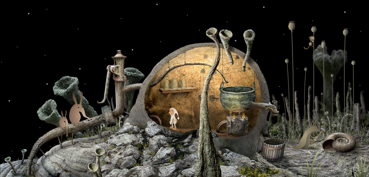 Samorost 2 screenshot