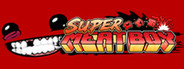 Logo for Super Meat Boy
