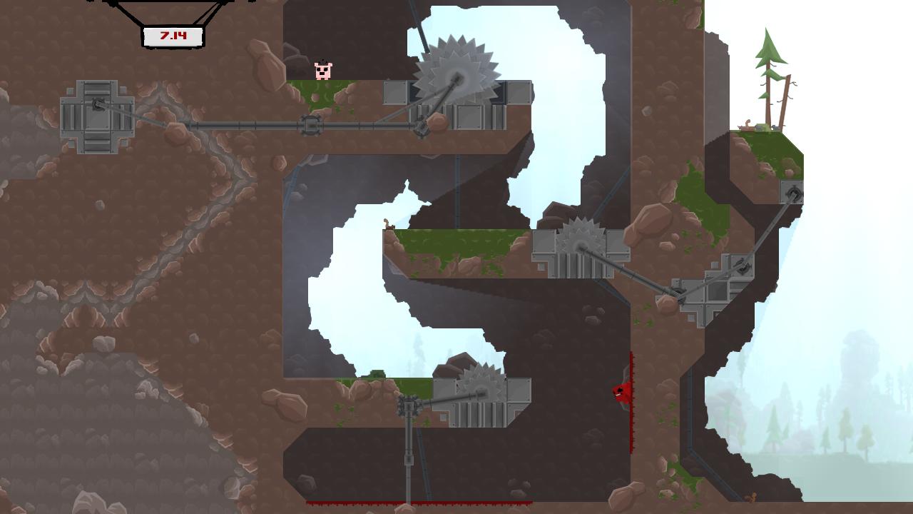 Super Meat Boy screenshot