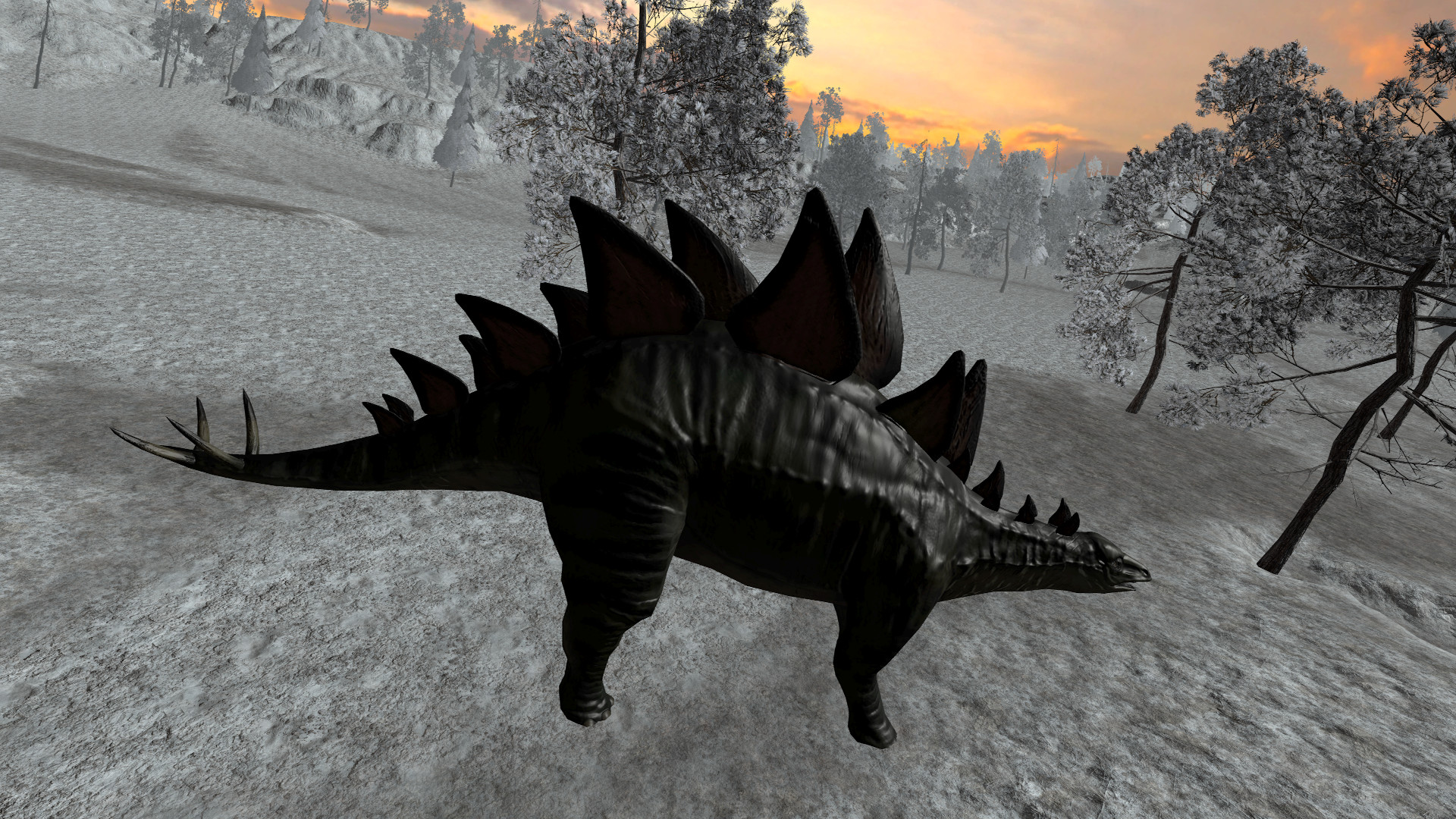 Dinosaur Hunt - Stegosaurus Expansion Pack screenshot