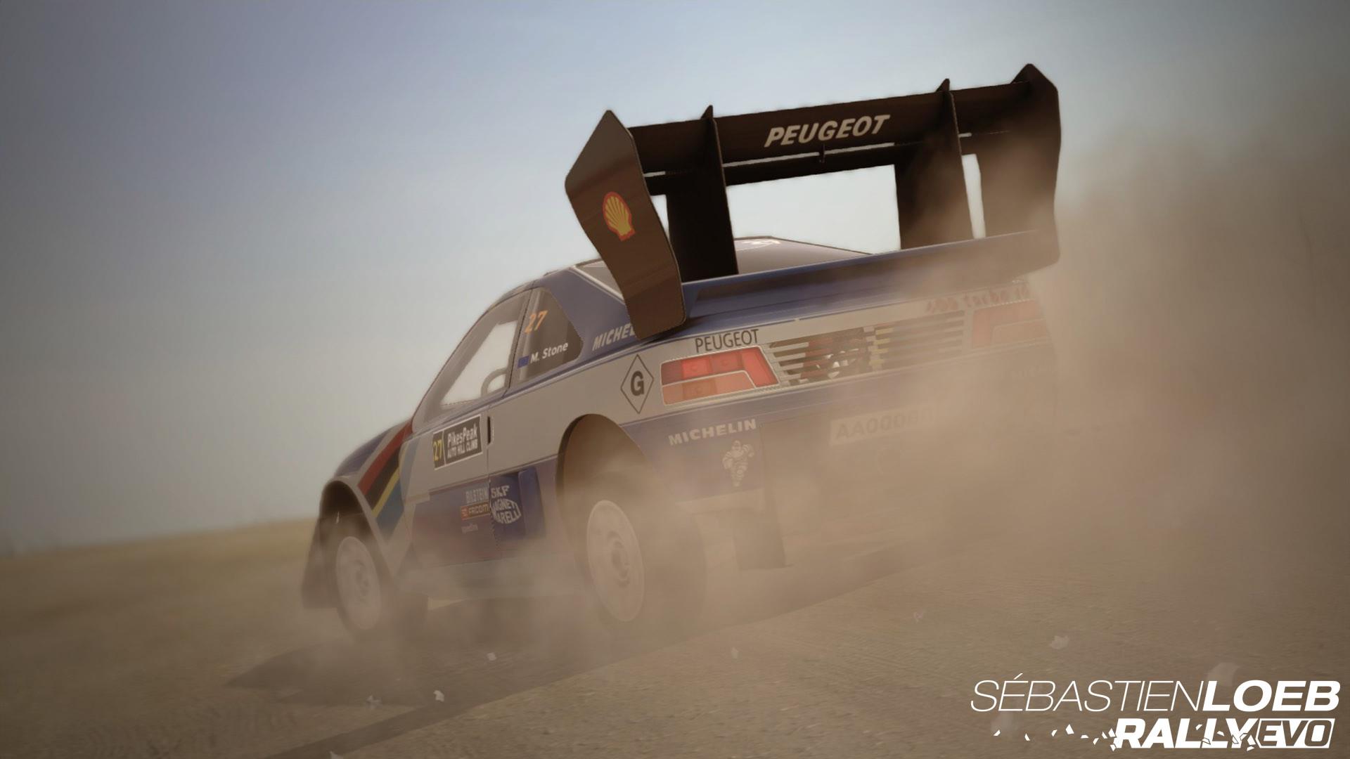 Sébastien Loeb Rally EVO - Pikes Peak Pack Peugeot 405 T 16 PP screenshot