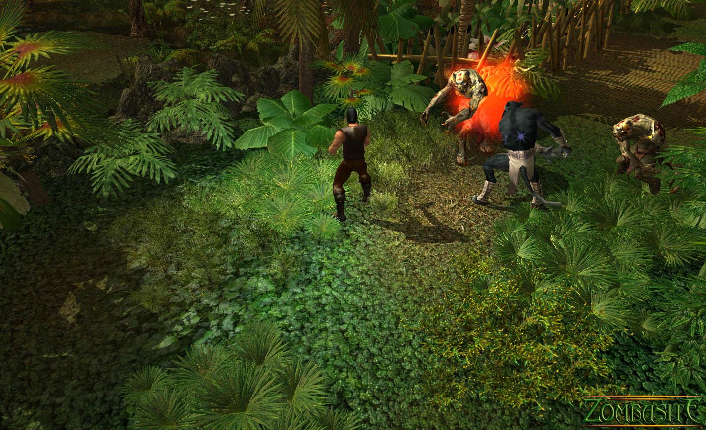 Zombasite screenshot
