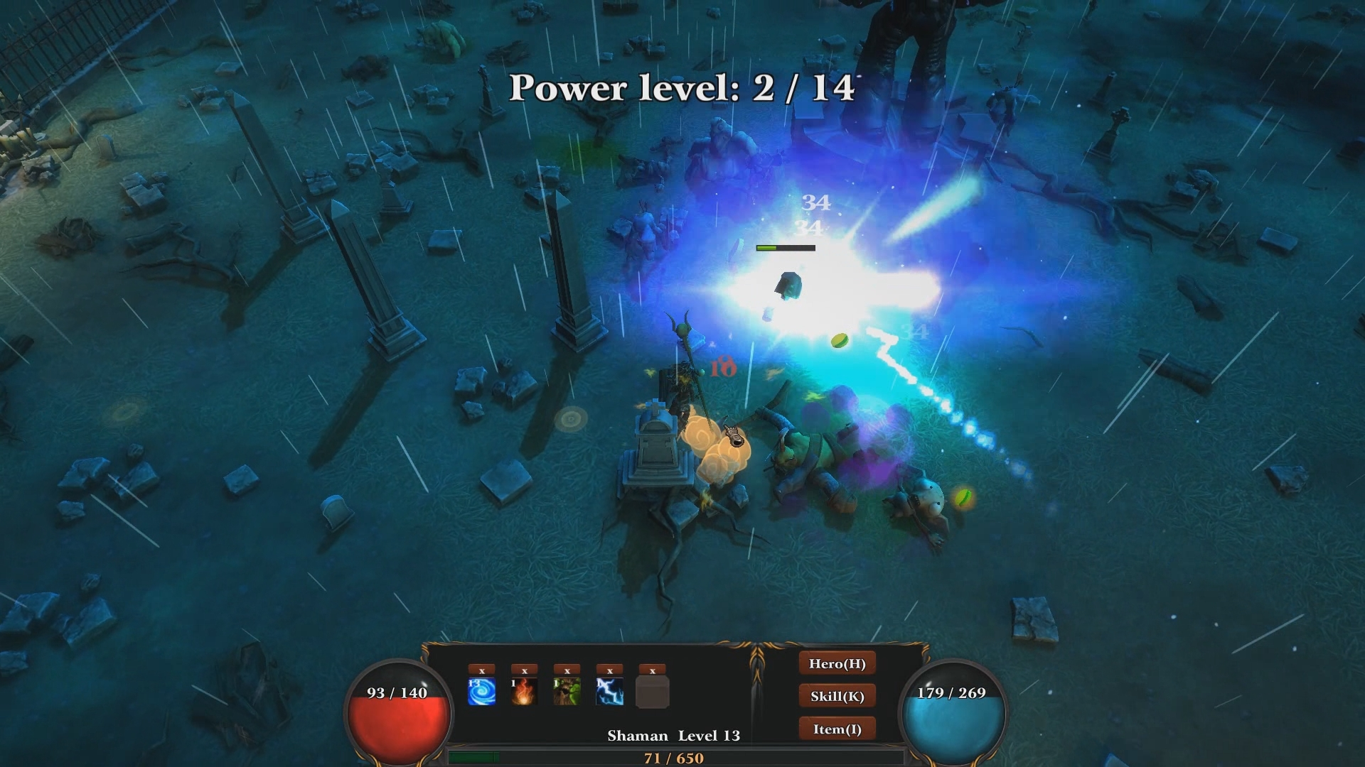 Herolike screenshot