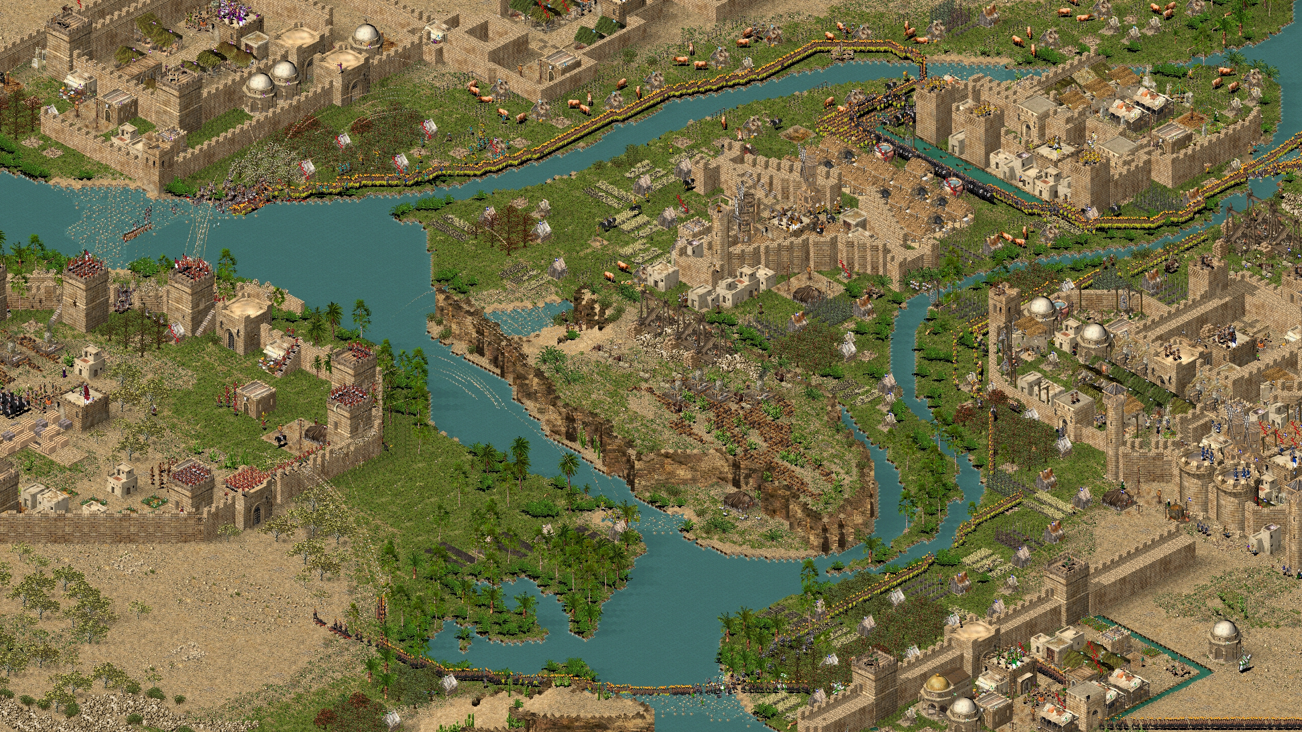 Stronghold Crusader HD screenshot