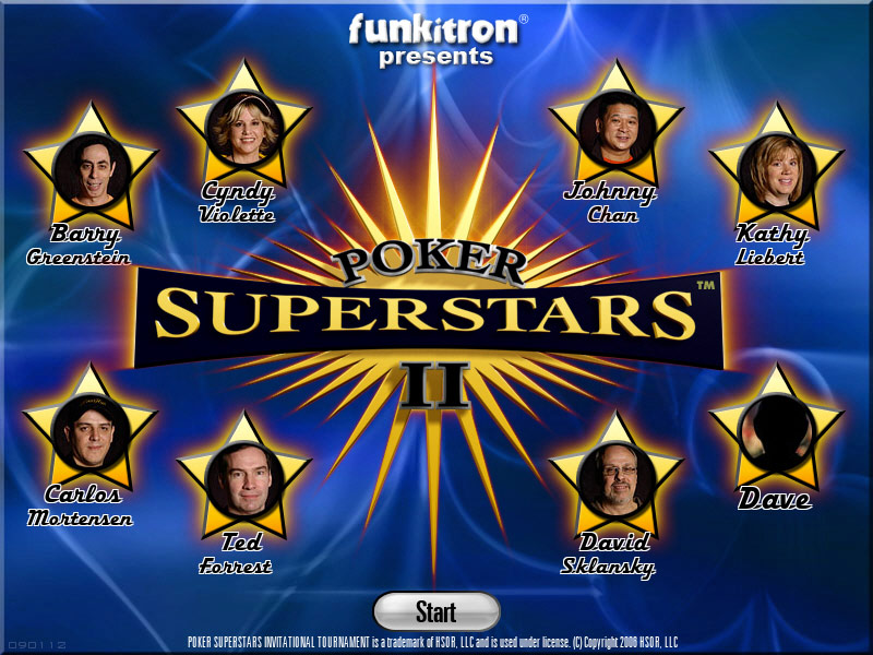Poker Superstars II screenshot