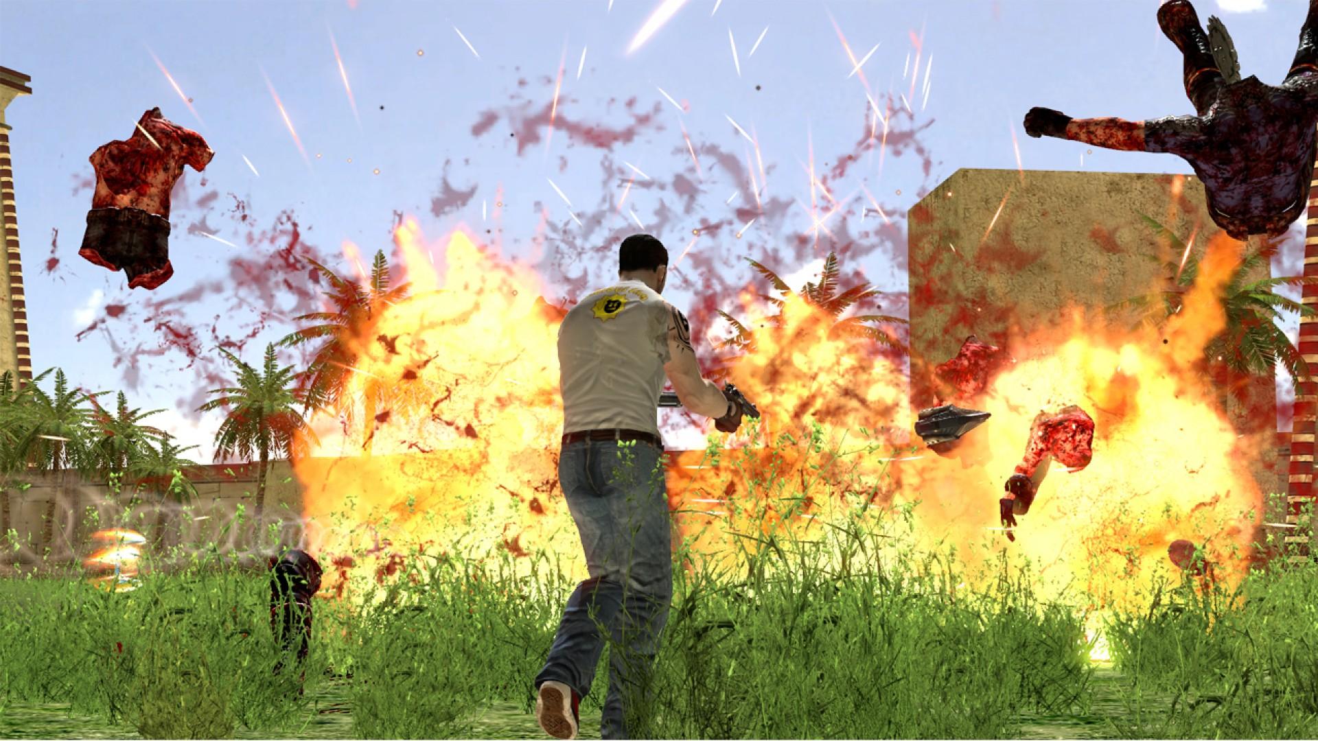 Serious Sam HD: The Second Encounter - Legend of the Beast DLC screenshot