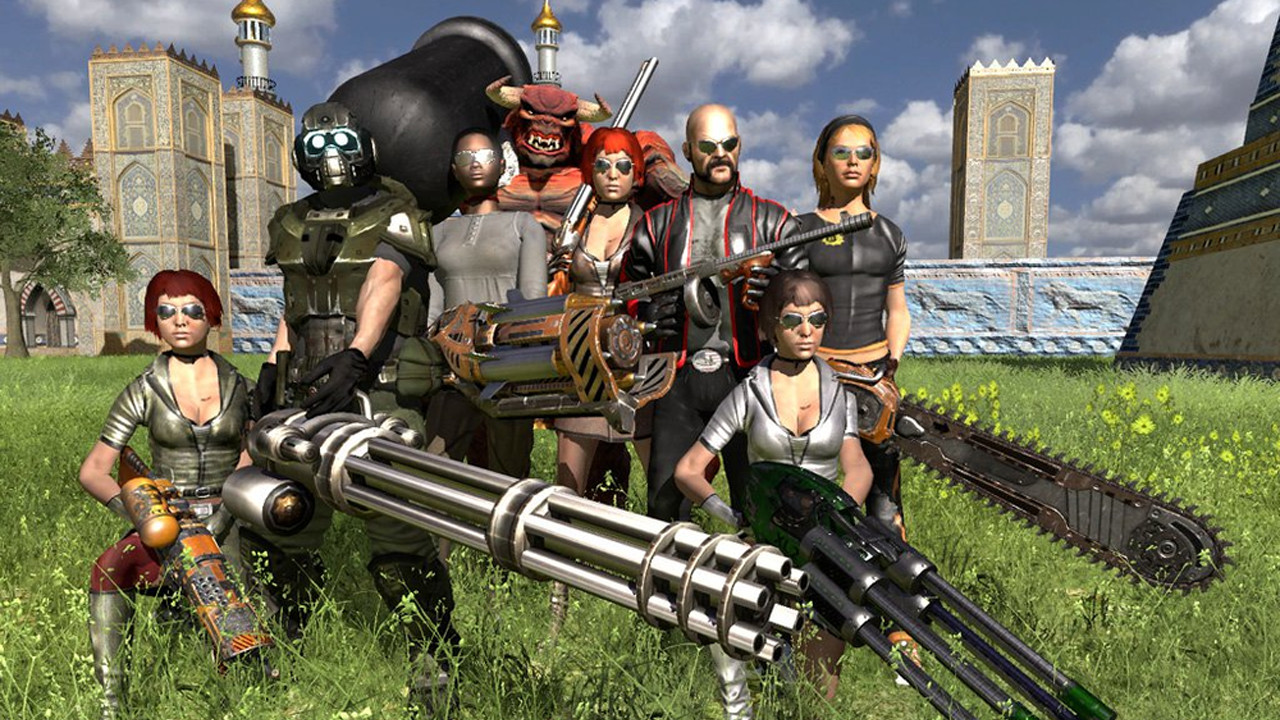 Serious Sam HD: The Second Encounter - Serious 8 DLC screenshot