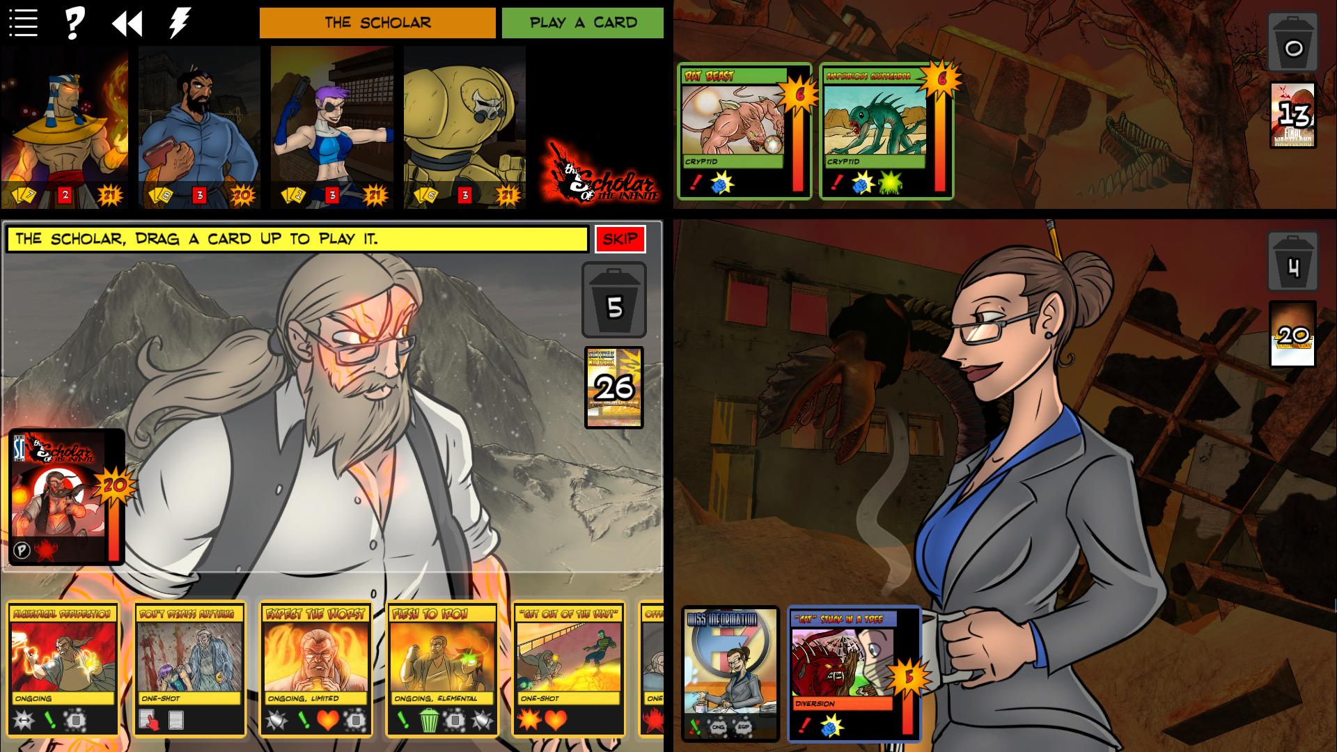 Sentinels of the Multiverse - Mini-Pack 2 screenshot