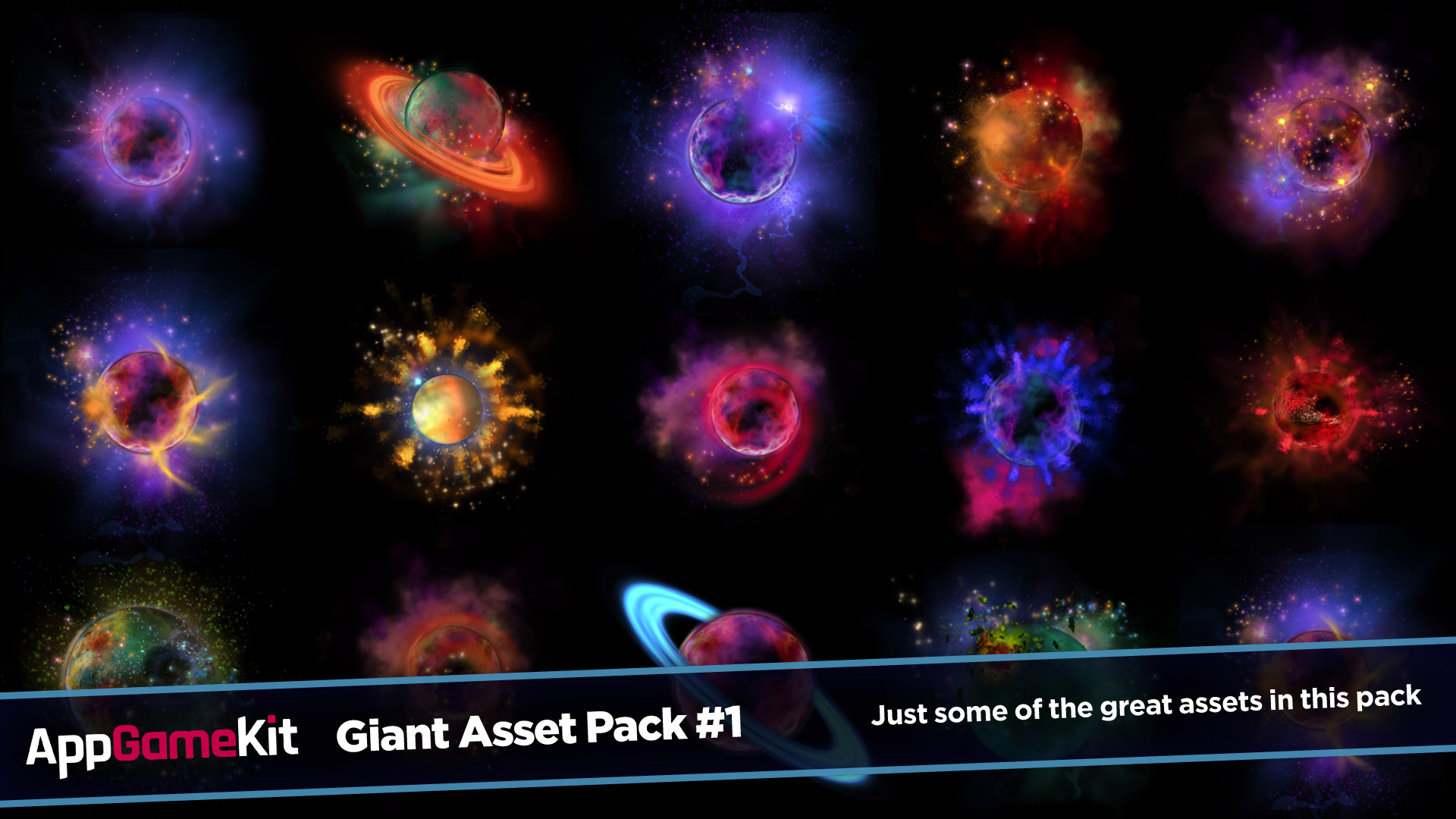 AppGameKit Classic - Giant Asset Pack 1 screenshot