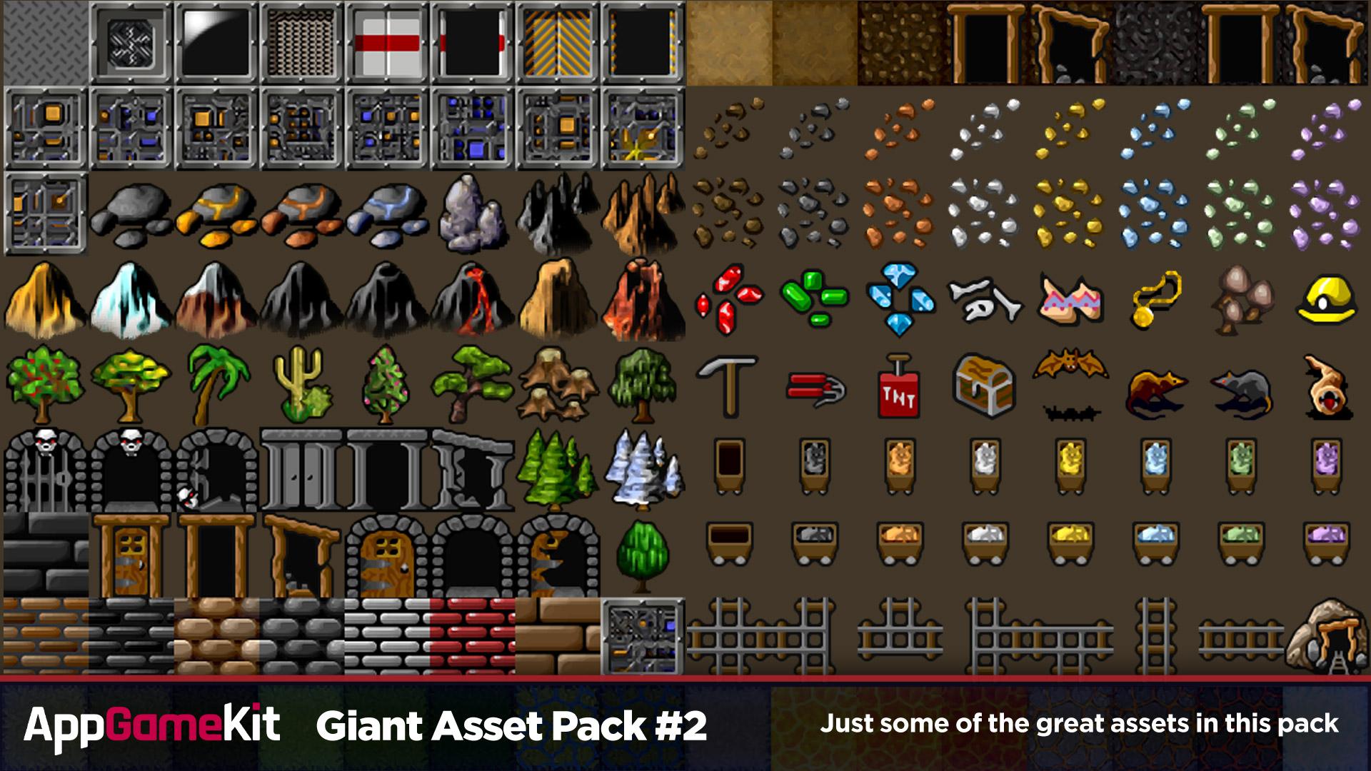 AppGameKit - Giant Asset Pack 2 screenshot