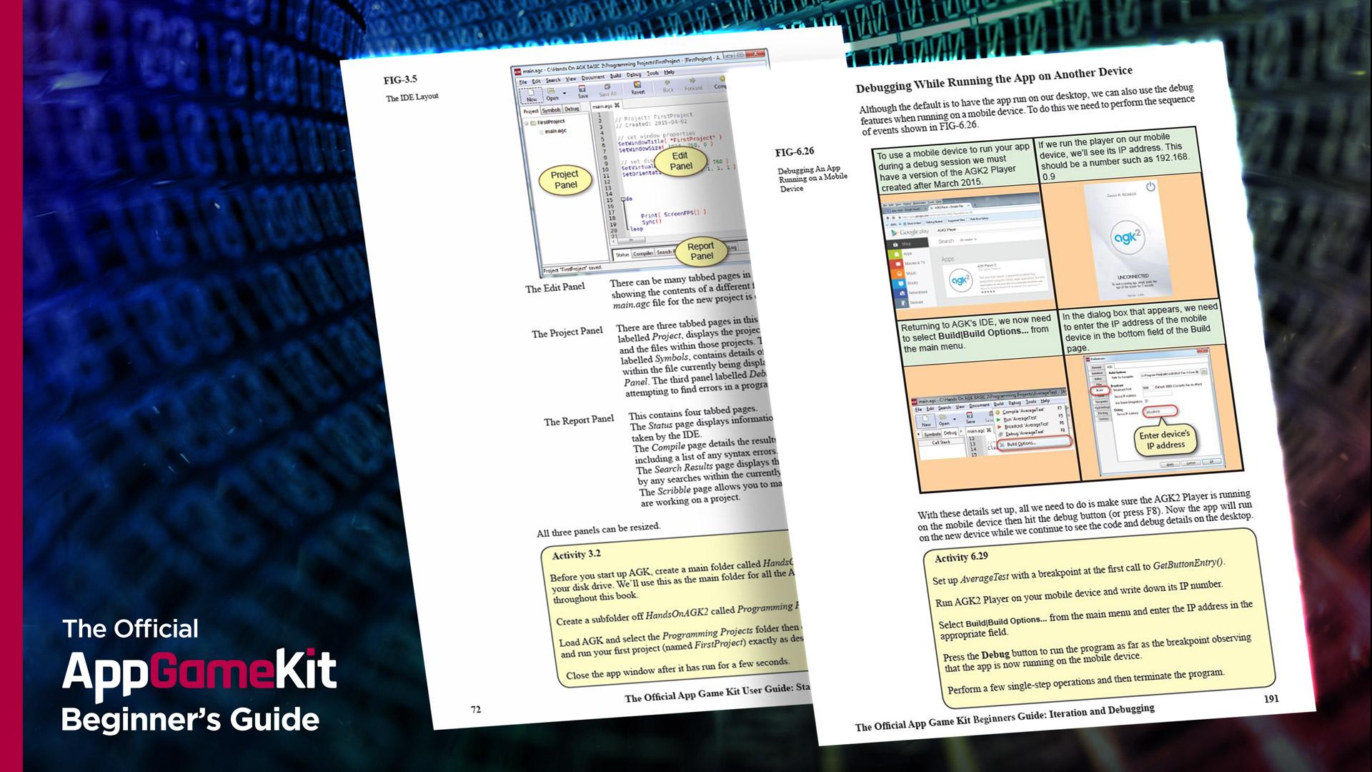 The Official AppGameKit Beginners Guide screenshot