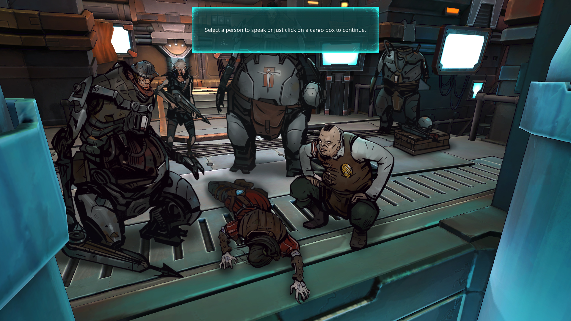 Leviathan: the Cargo — Ongoing series screenshot