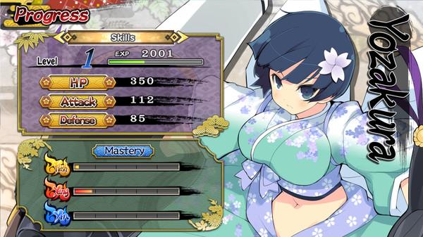Senran Kagura Shinovi Versus PC-3DM