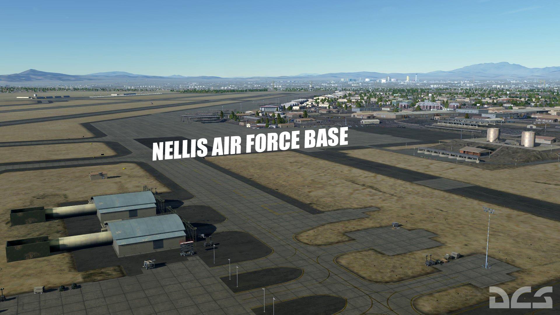 DCS: NEVADA Test and Training Range Map screenshot