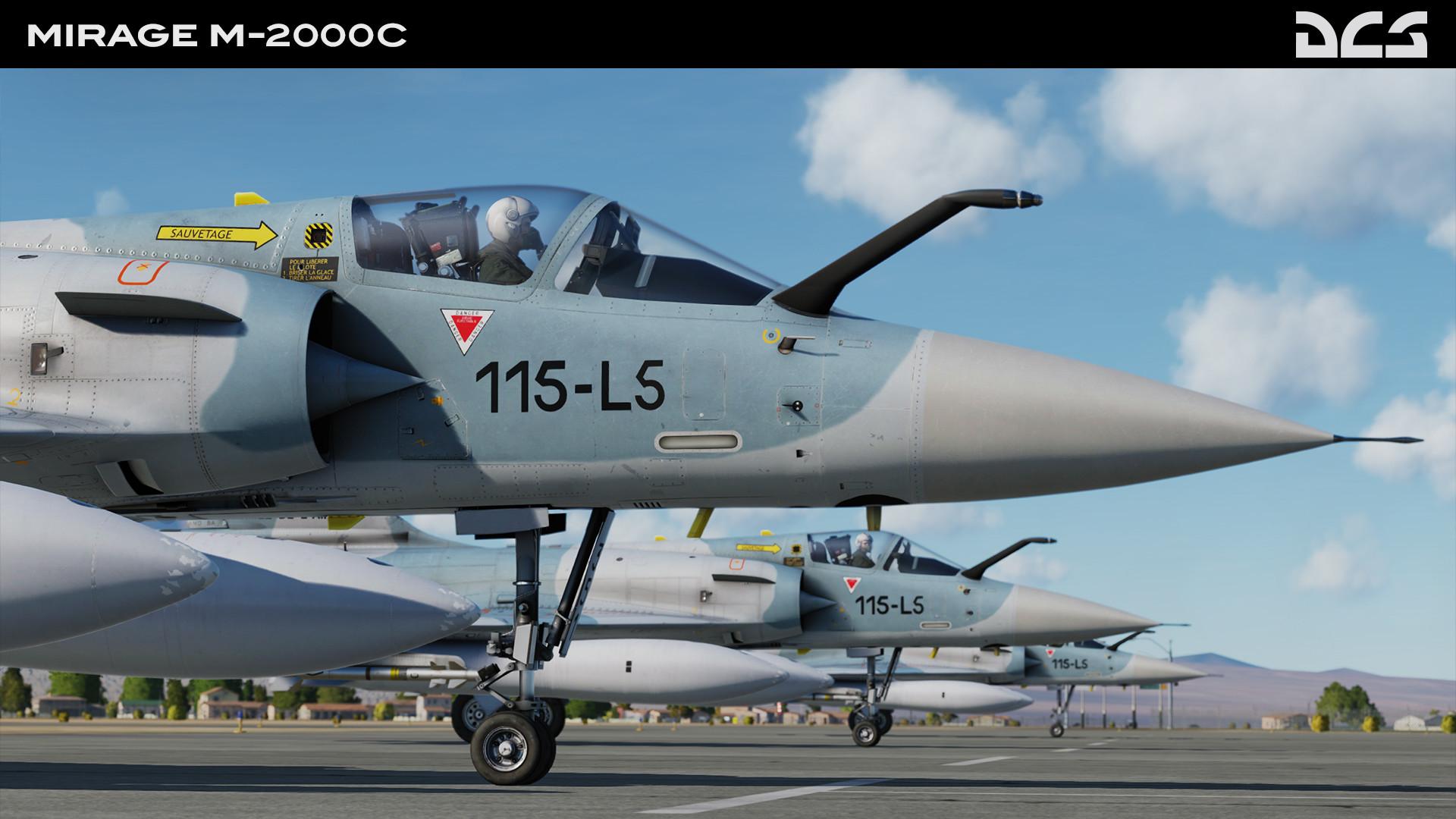 DCS: M-2000C screenshot