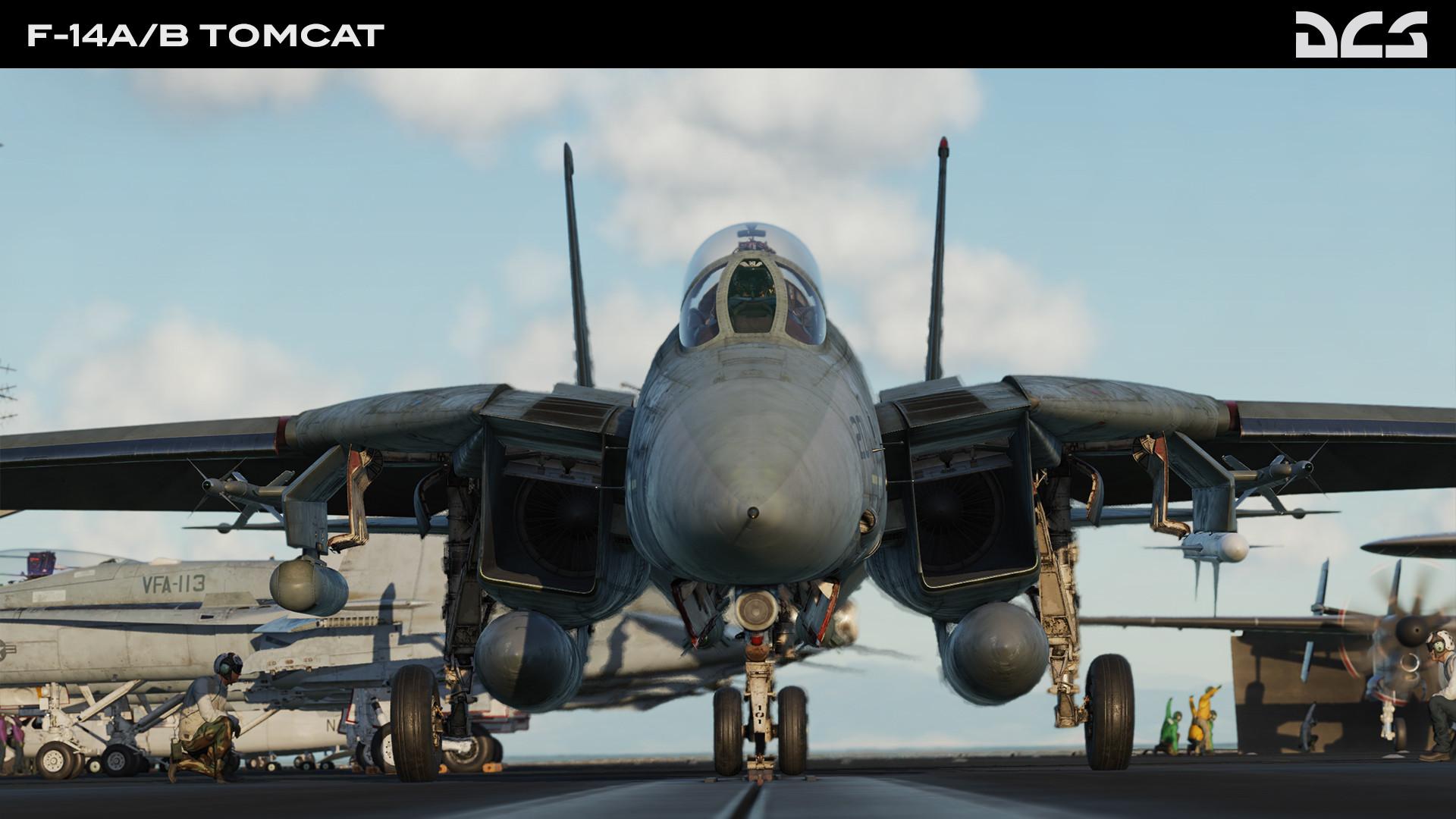 DCS: F-14A/B Tomcat screenshot
