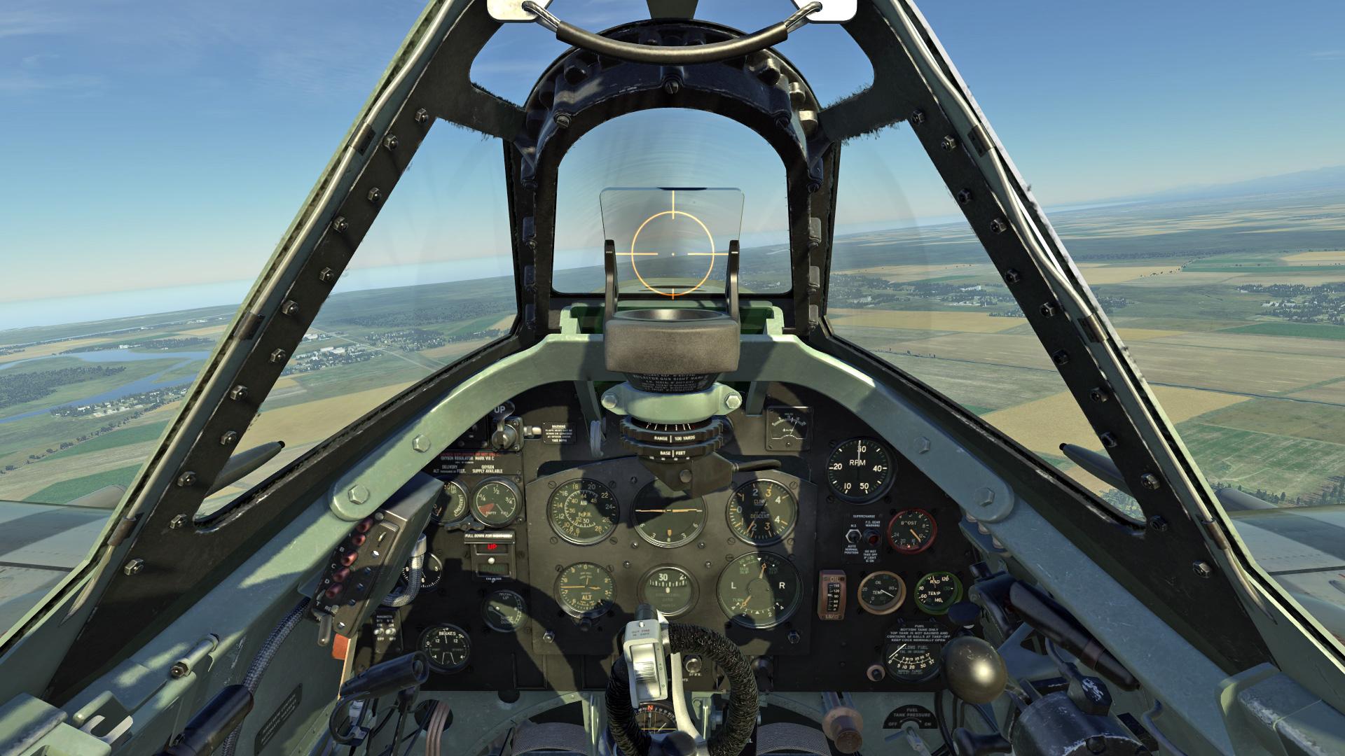 DCS: Spitfire LF Mk IX screenshot