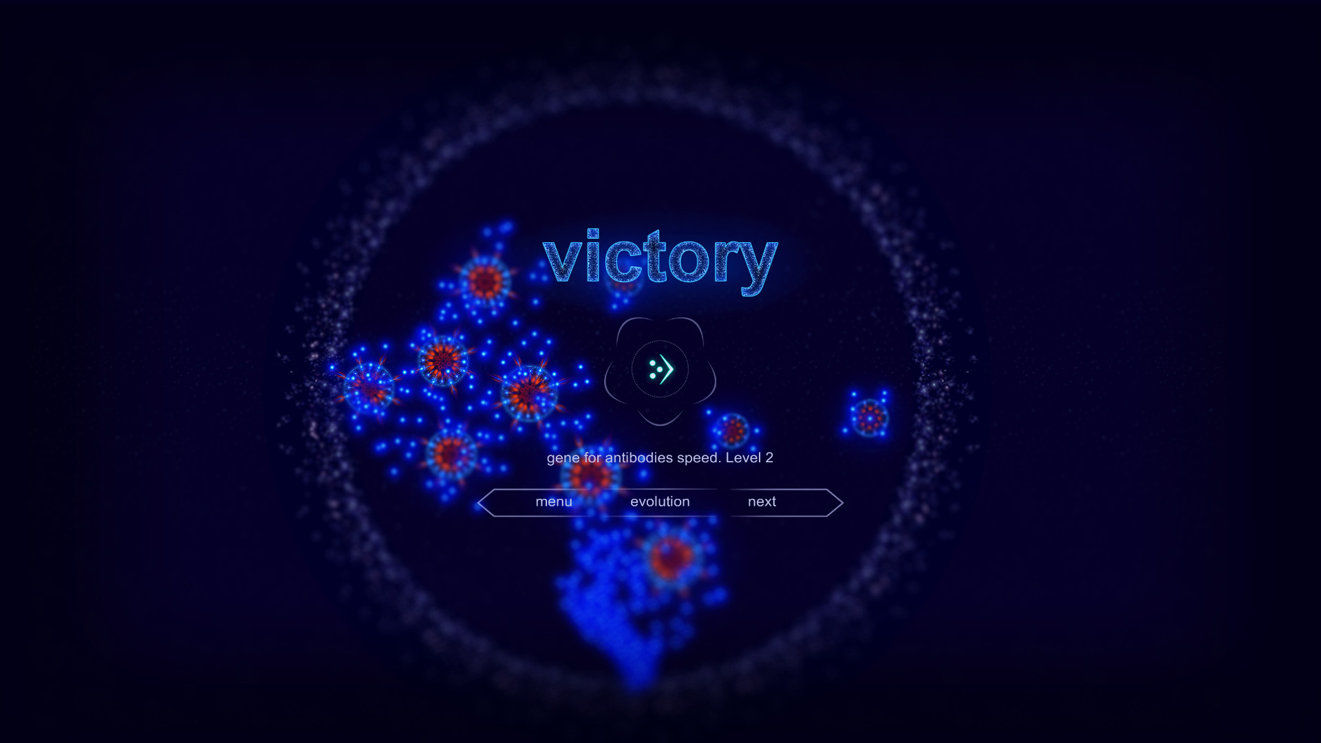 Microcosmum: survival of cells - Random levels screenshot