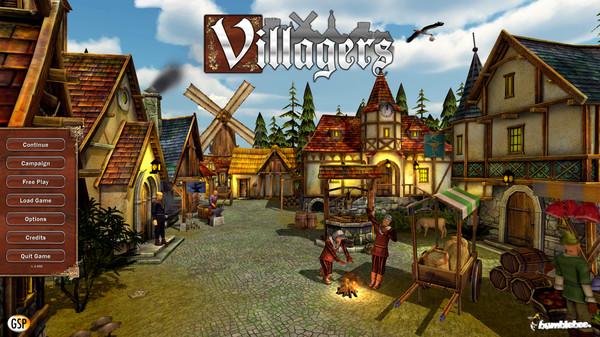 Villagers PC Game Update v1.005 BAT Screen