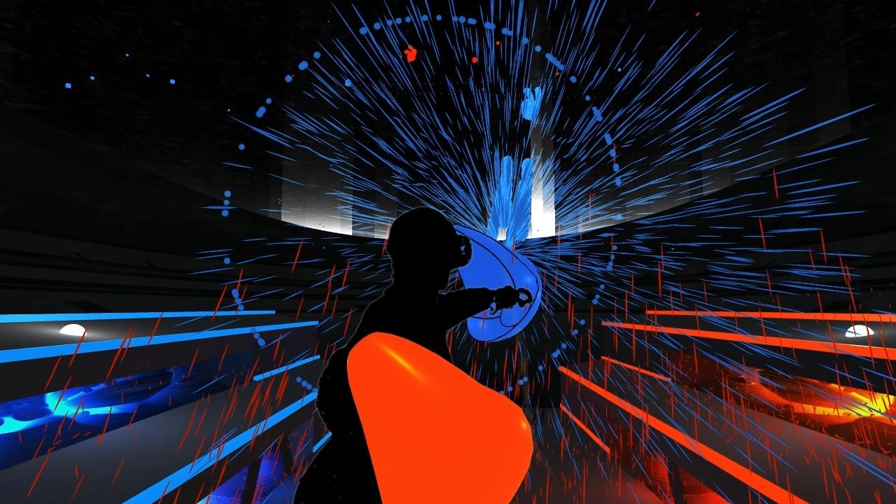 VRゲーム、Audioshield、ゲームイメージ