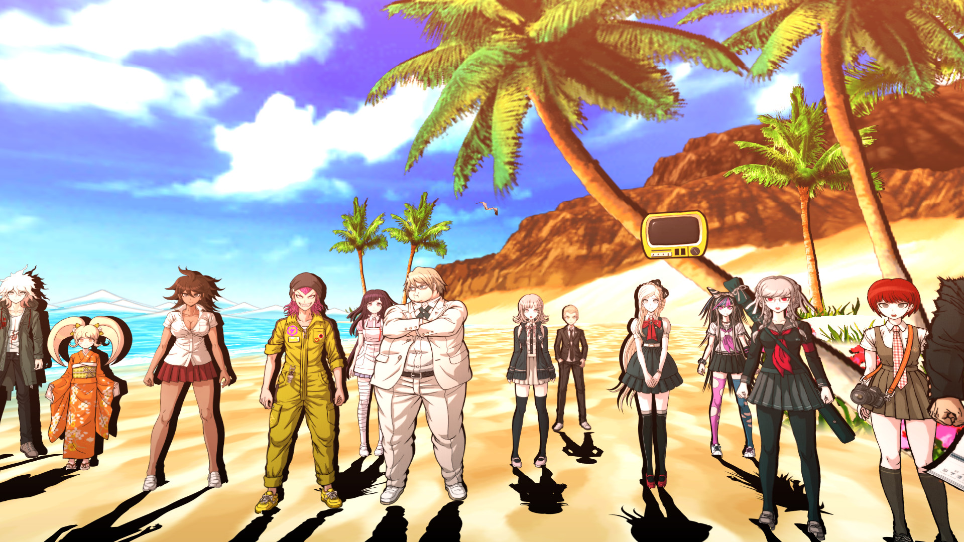 Danganronpa 2 Goodbye Despair Gameplay 1