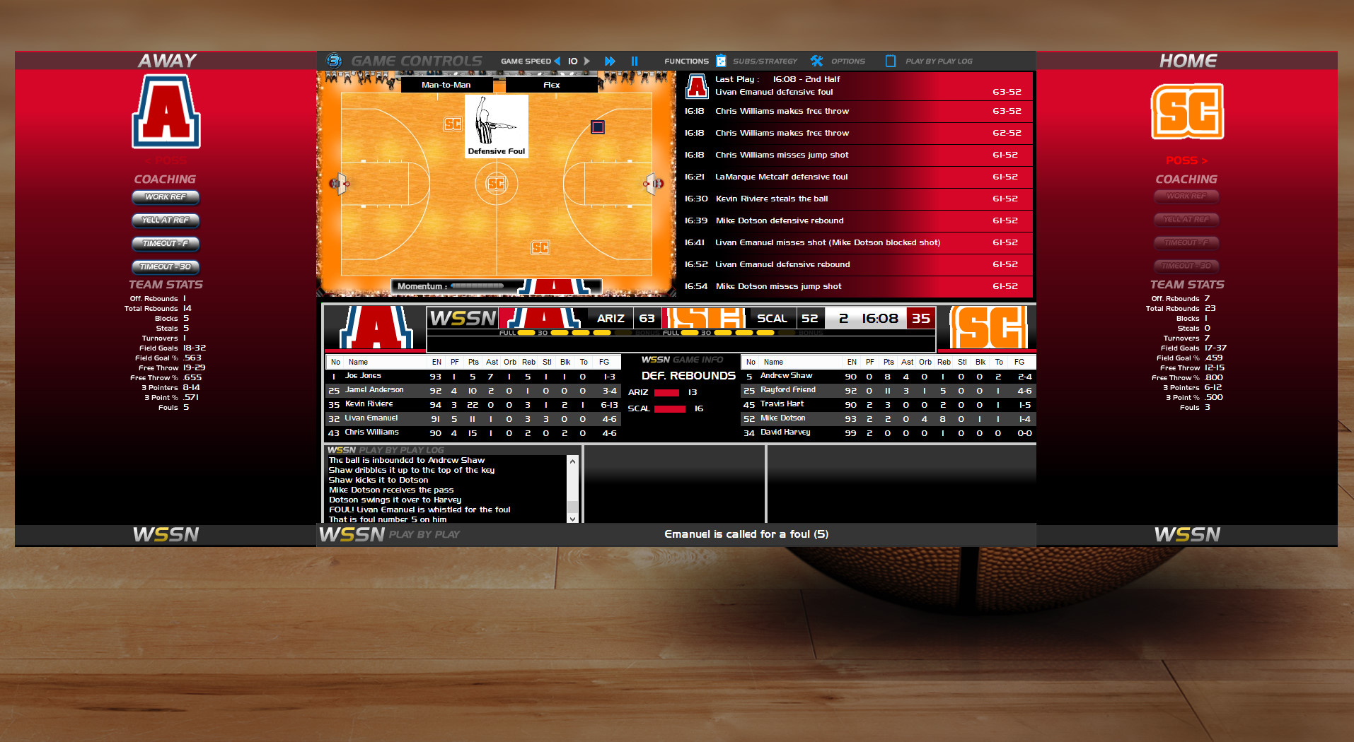 download draft day sports college basketball 3 full pc game