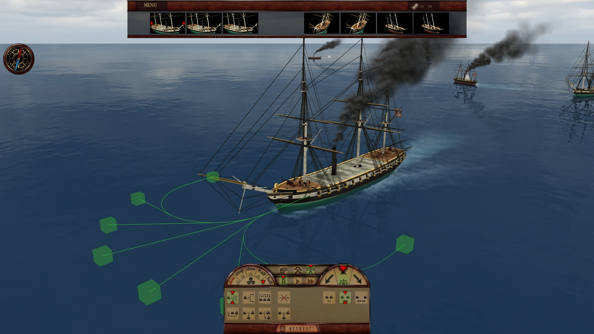 Ironclads 2: American Civil War screenshot