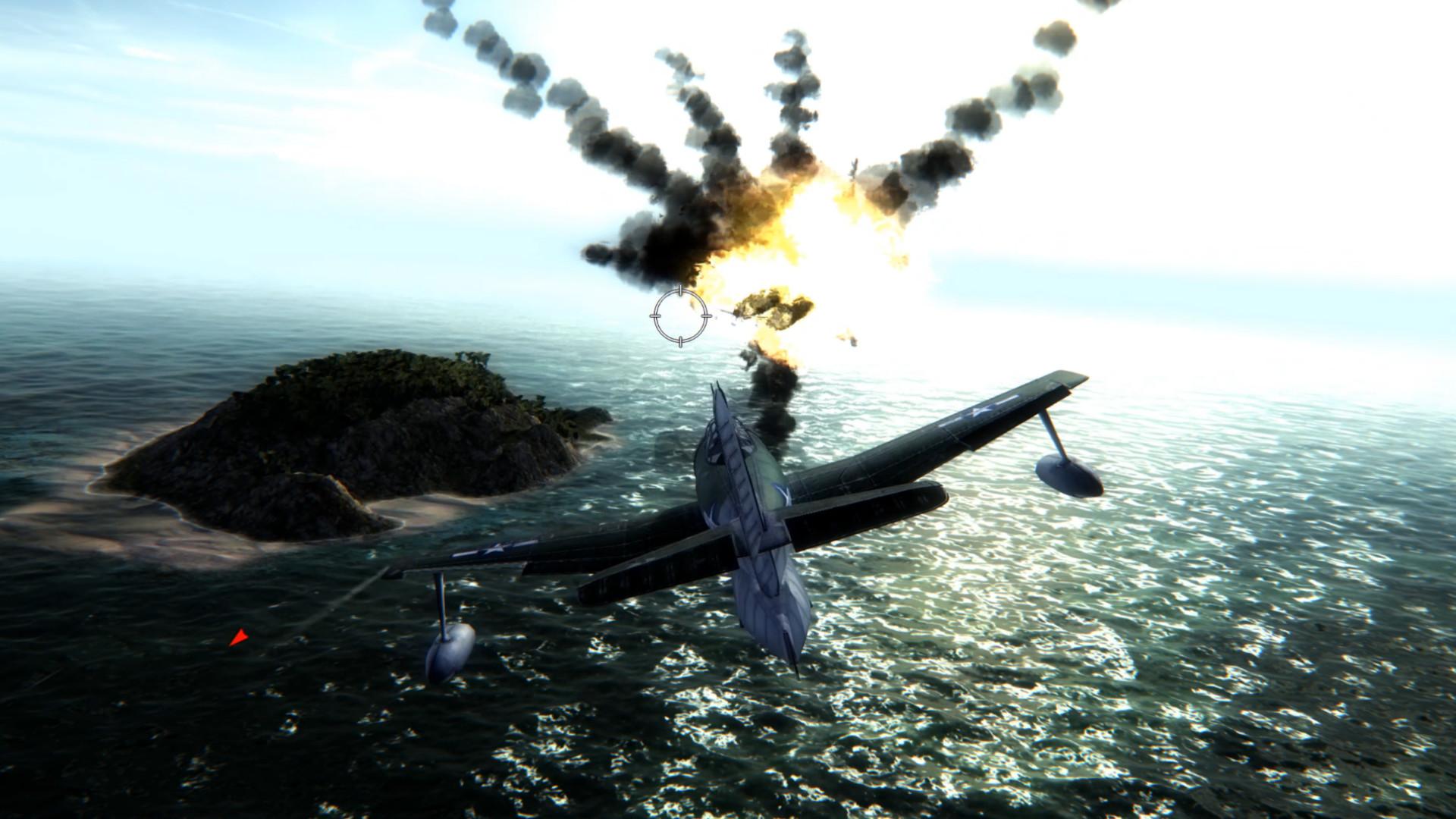 Flying Tigers: Shadows Over China - Paradise Island screenshot