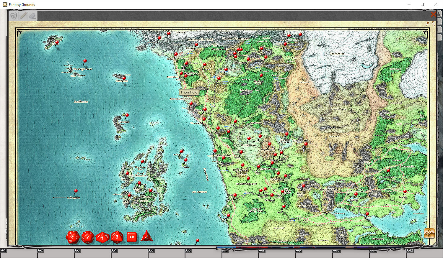 Fantasy Grounds - D&D Sword Coast Adventurer's Guide screenshot