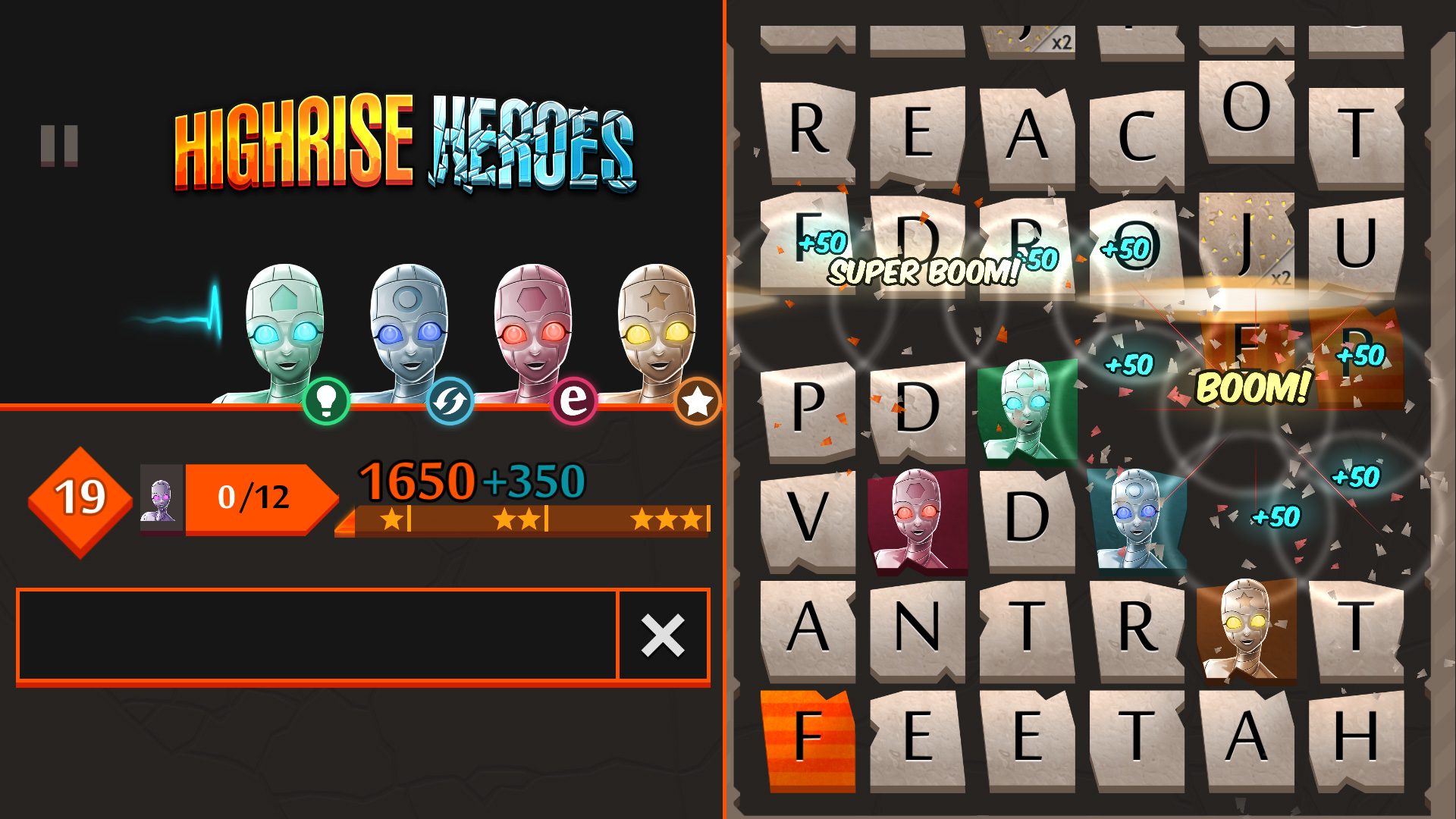Highrise Heroes: Word Challenge screenshot