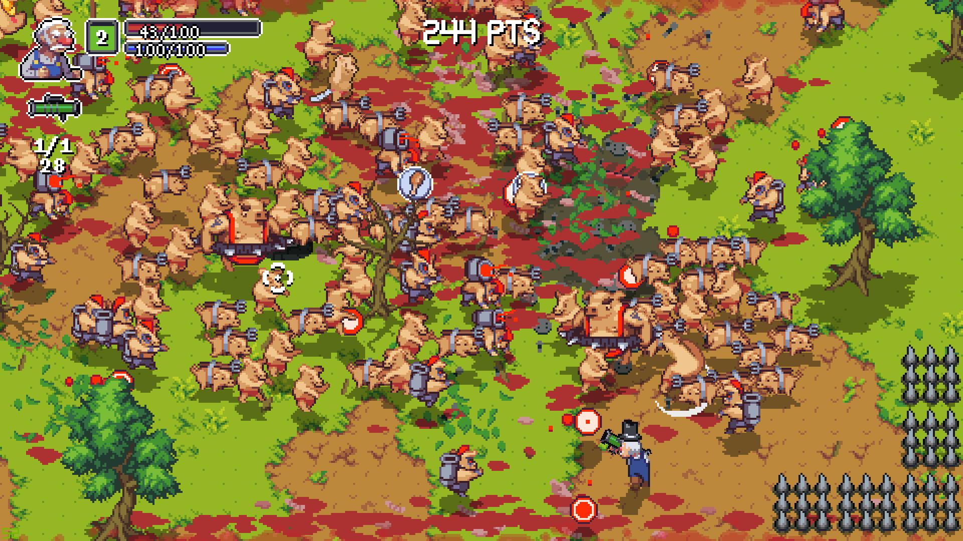 Bacon Rebellion screenshot