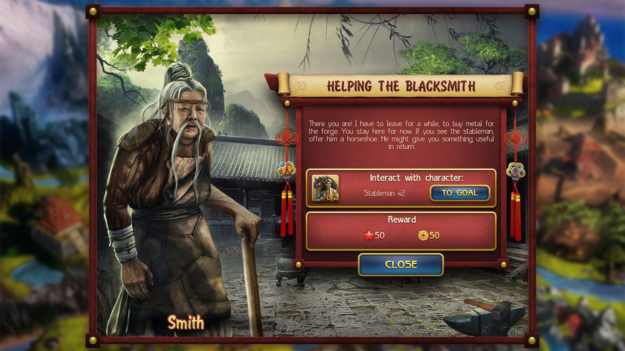 Mystic Saga screenshot