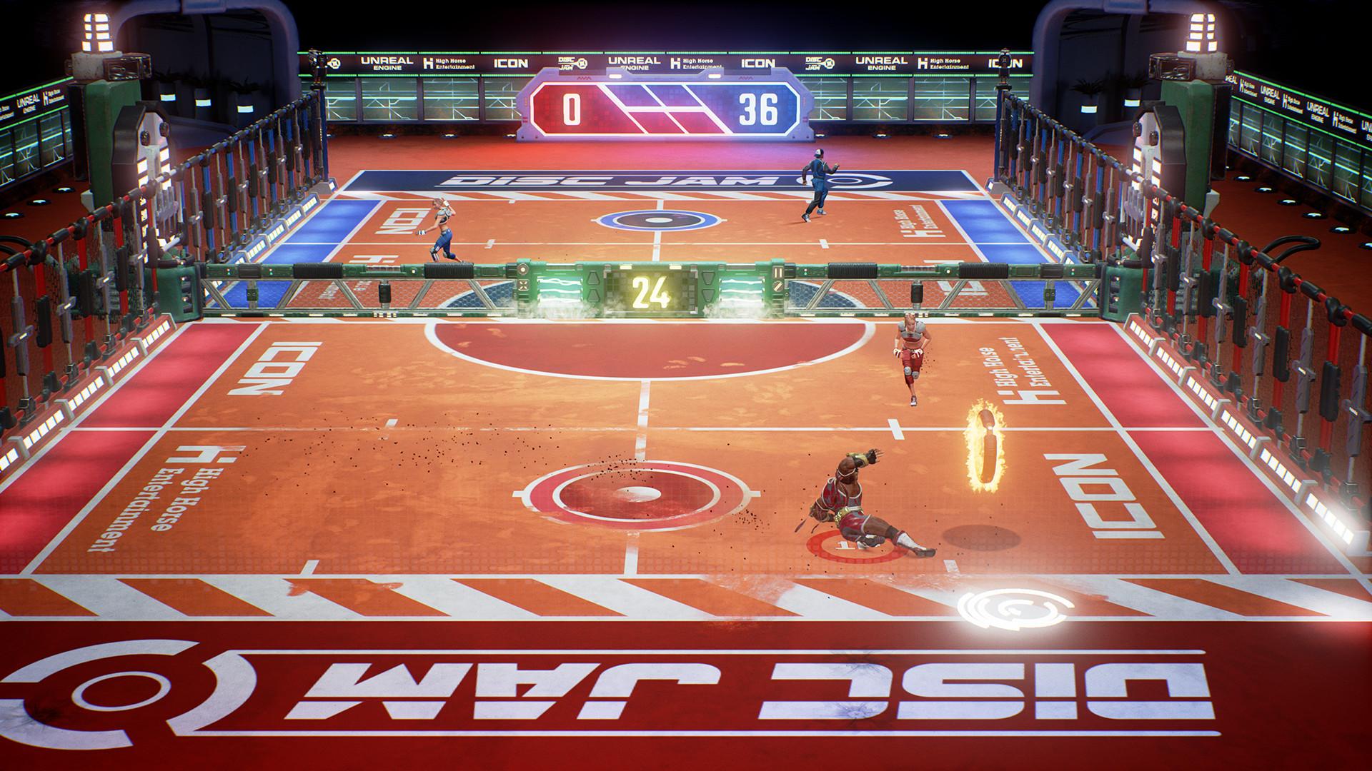 Disc Jam screenshot
