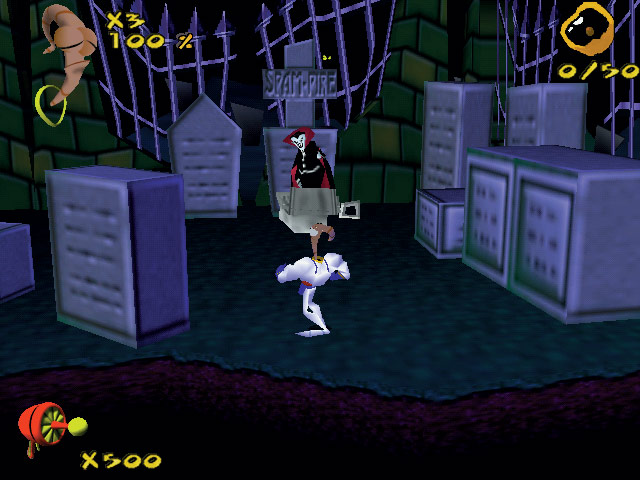 Earthworm Jim 3D screenshot