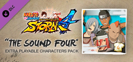 NARUTO SHIPPUDEN: Ultimate Ninja STORM 4 - The Sound Four Characters Pack