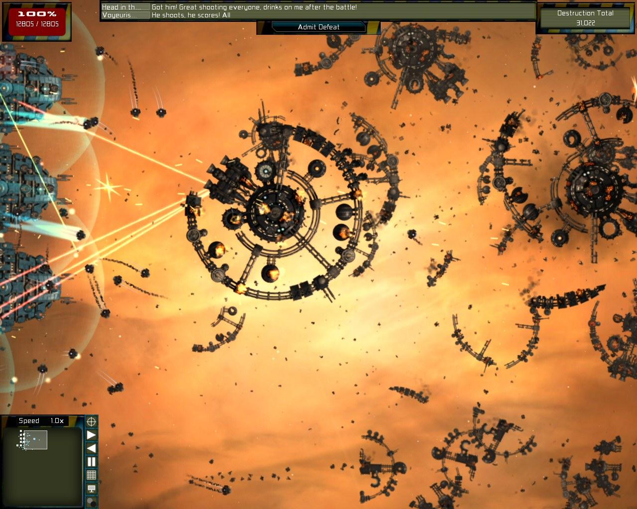 Gratuitous Space Battles screenshot