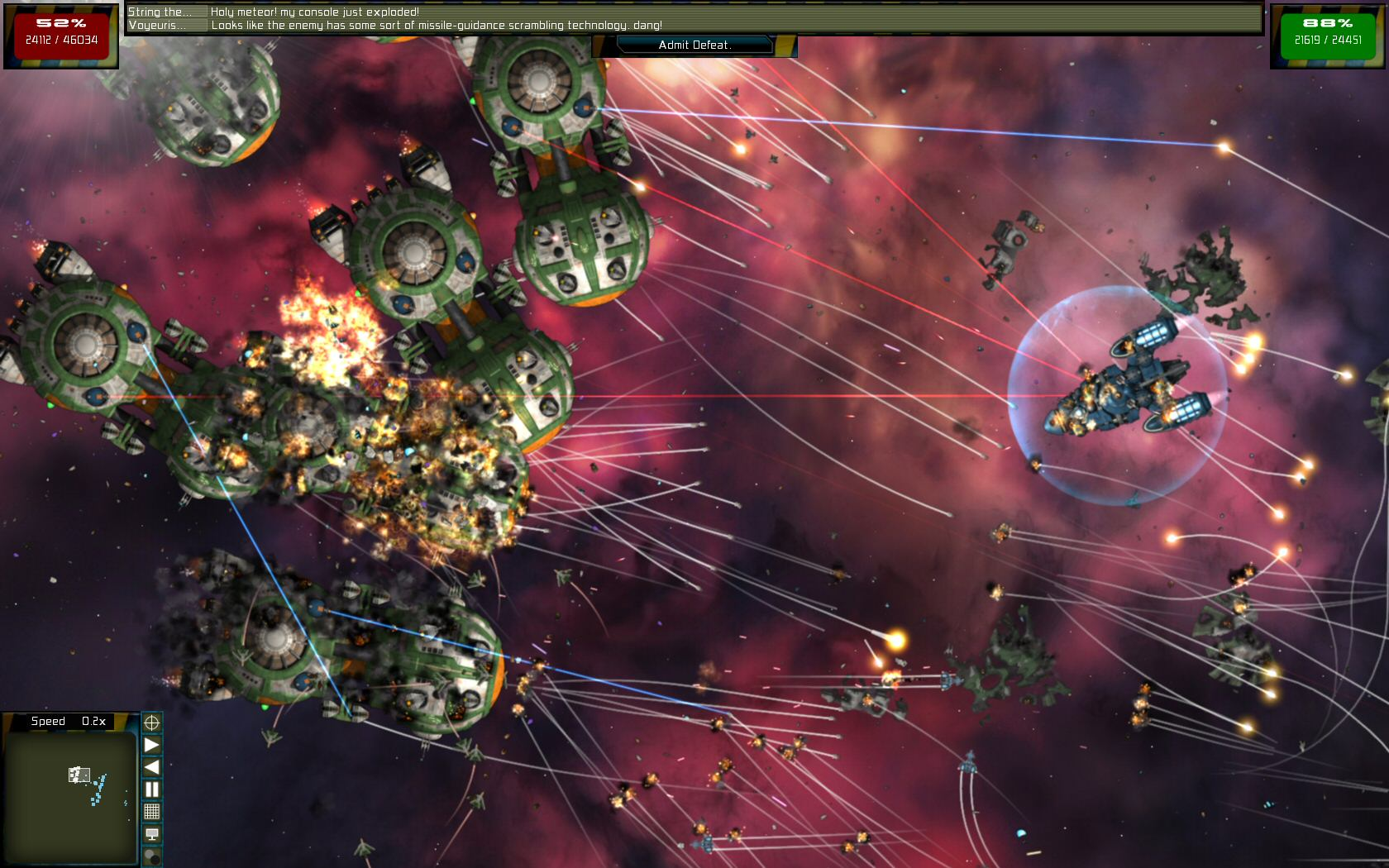 Gratuitous Space Battles: The Tribe screenshot