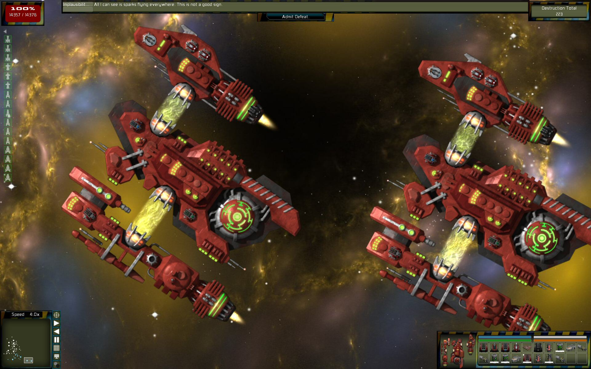 Gratuitous Space Battles: The Order screenshot