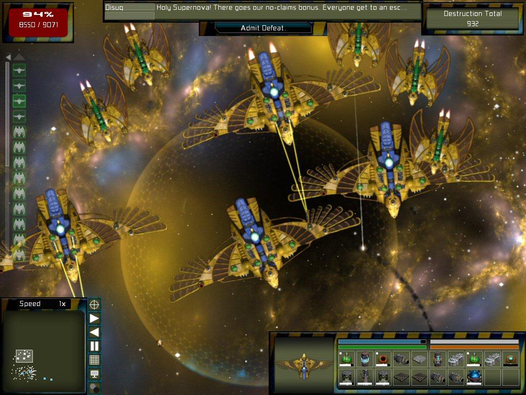 Gratuitous Space Battles: The Swarm screenshot