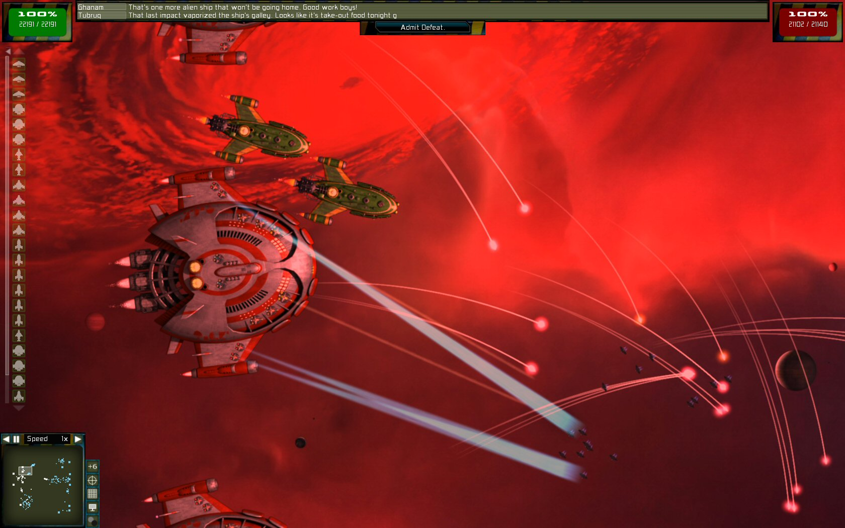 Gratuitous Space Battles: The Nomads screenshot