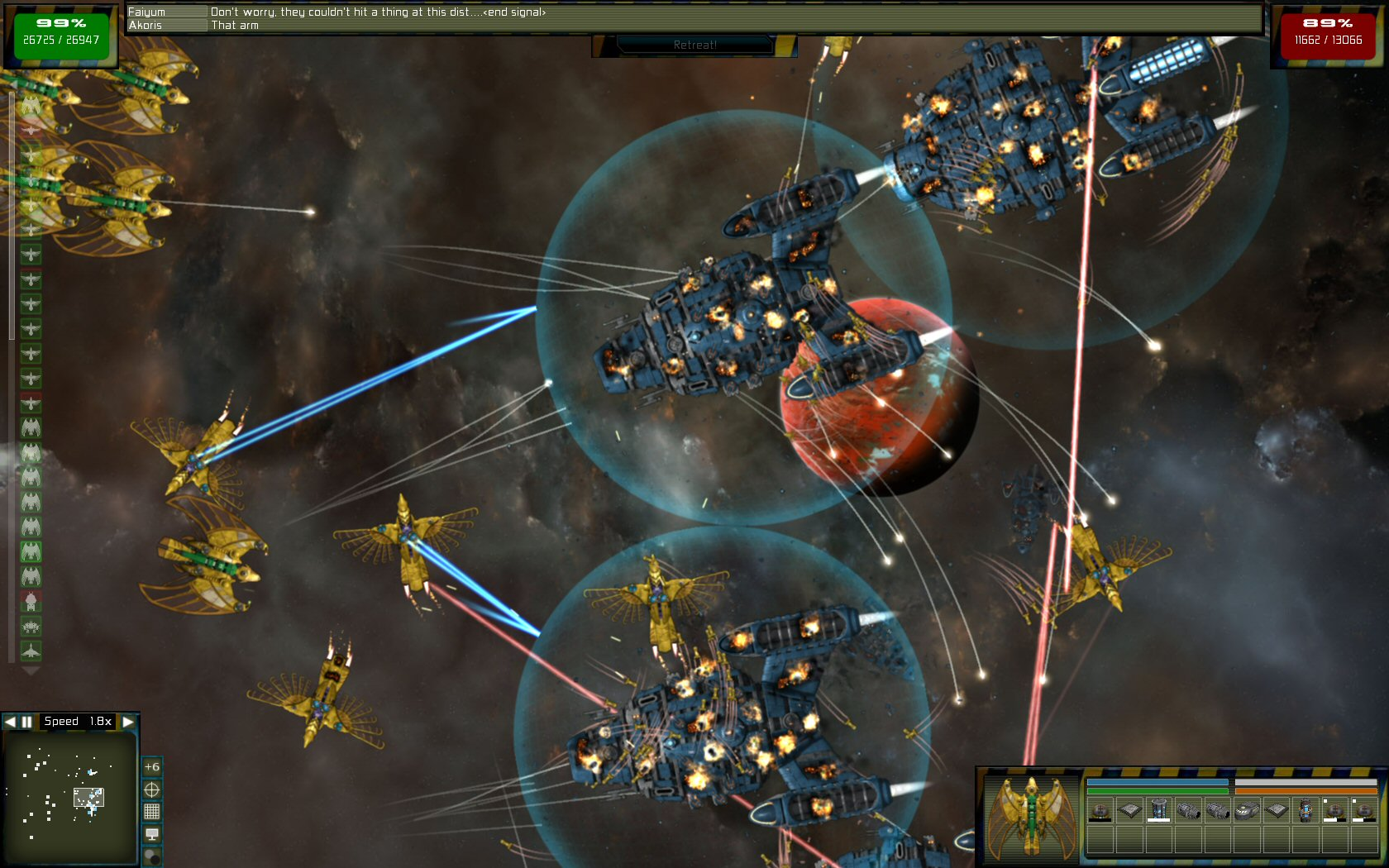 Gratuitous Space Battles: Galactic Conquest screenshot