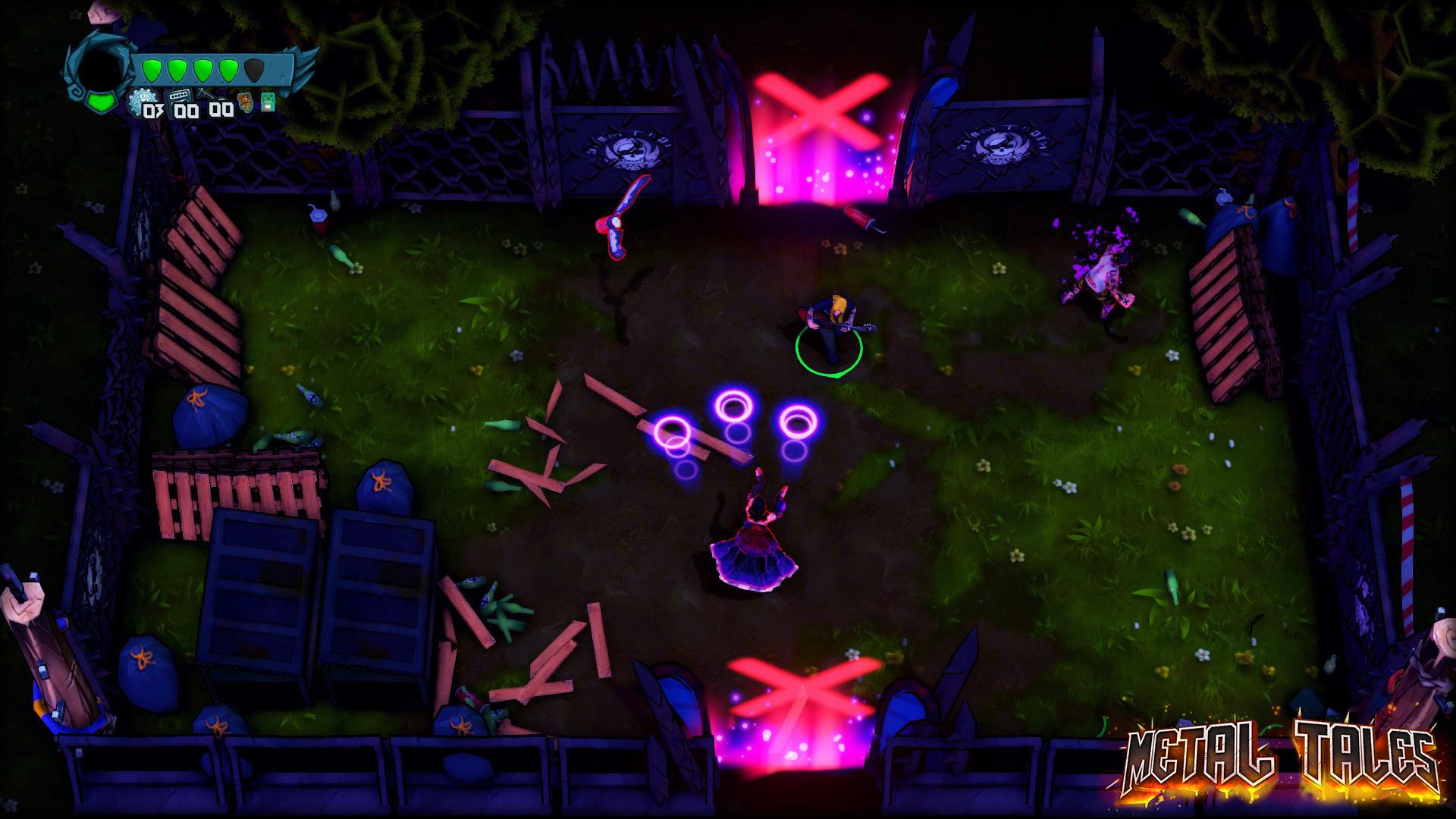 Metal Tales: Fury of the Guitar Gods screenshot