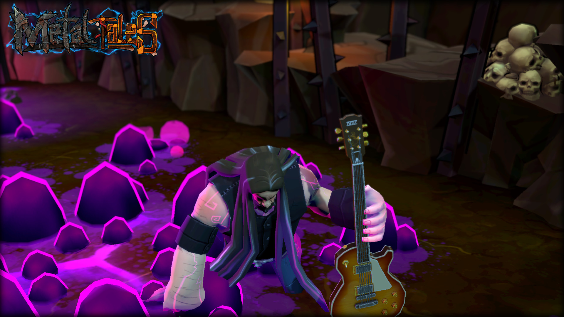 Metal Tales: Fury of the Guitar Gods Screenshot 3