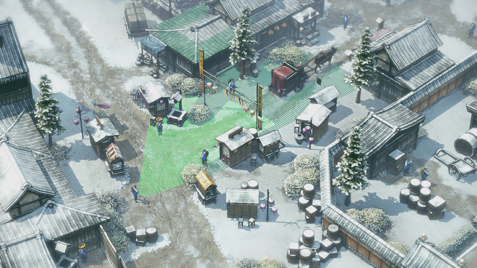 Shadow Tactics: Blades of the Shogun screenshot 1