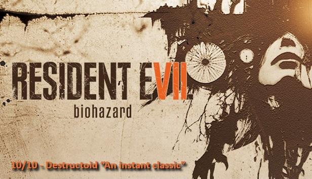 RESIDENT EVIL 7 biohazard / BIOHAZARD 7 resident evil
