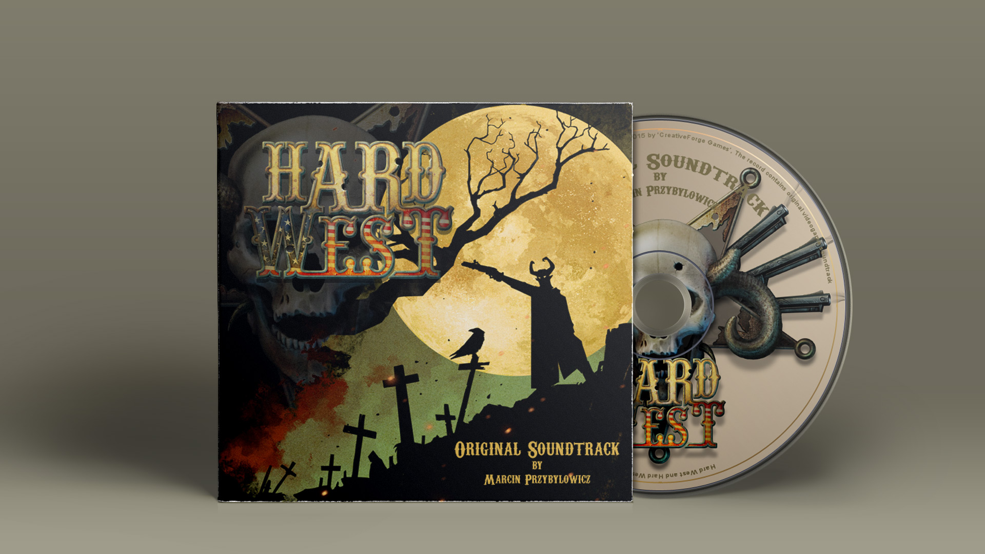 Hard West Soundtrack screenshot